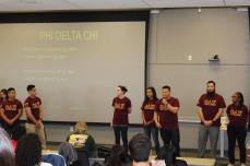 Fraternity Reveal at Orientation 2017