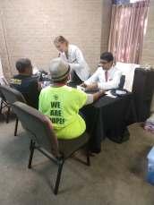 Good Hope Church Health Fair '18 PC: UH SNPhA