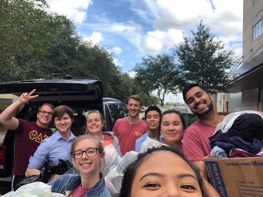 Our Clothing Donation Drive for Houston's Homeless (Bridge Mitzvah + 1000 Hills Ministry) was an absolute success! We collected a total of 282 articles of clothing! We wanted to give everyone who participated a big thank you from the bottom of our hearts, especially to our @tsuphideltachi Brothers for opening up our drive to their school! We couldn't have done it without you guys. Thank you for being true Brothers! #AAAE